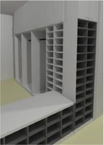 Reinraum Installation
